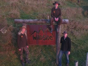 Wildside Accommodation Sign